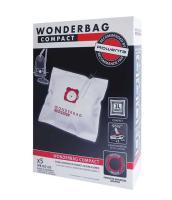 WONDERBAG COMPACT  STAUBSAUGERBEUTEL (X5)