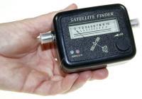 Sat-finder Plus Med Akustisk Signal, H/v Og 22khz Angivelse