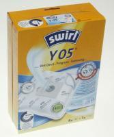 Swirl Micropor Støvsugerposer 4+1 Filter