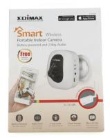 Smart Wireless Portable Indoor Kamera, Lan