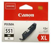 CANON Cli-551bk Xl Canon Blækpatron 11 Ml Sort Foto Ip7250