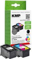KMP 1562, 4005 Blækpatron, Multipack, Sort/color