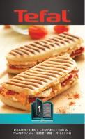 GROUPE SEB Panini Grillplader + 1 Snack Collection Opskriftsbog