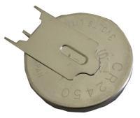 3v  Lithium Stående Knapcelle Med Loddeflige