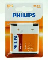 3r12  Passer Til Philips Longlife Batteri, Normal, 3r12 Zink-kul 1-blister